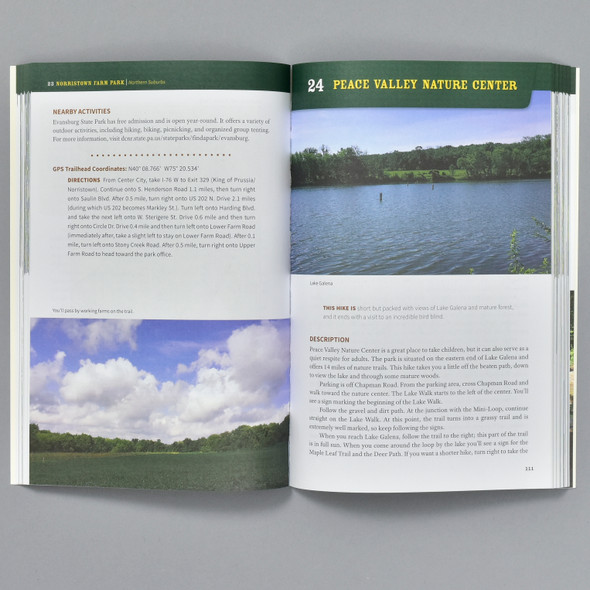 Pages from the book 60 Hikes Within 60 Miles: Philadelphia