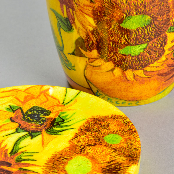 Van Gogh Sunflowers Mug With Tea Infusers