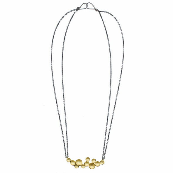 Gold Vermeil Seed Pod Necklace