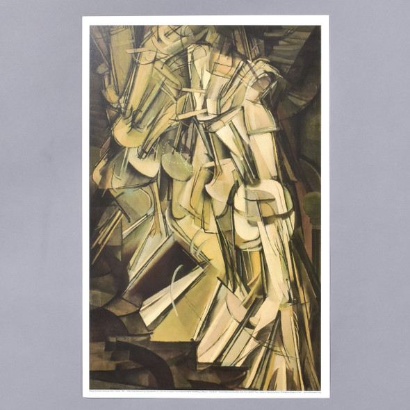 Marcel Duchamp Nude Descending A Staircase (No. 2) Mini Poster