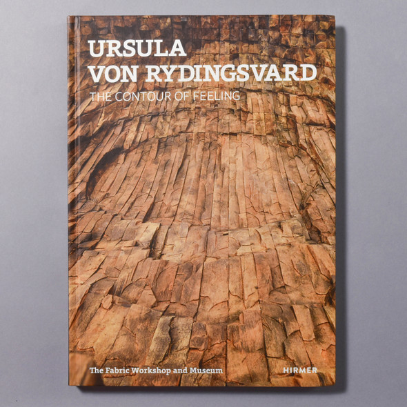 "Cover of the book ""Ursula Von Rydingsvard: The Contour Of Feeling"""
