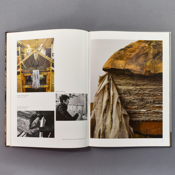 "Interior of the book ""Ursula Von Rydingsvard: The Contour Of Feeling"""