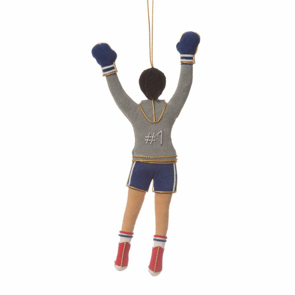 Female Rocky Steps Runner Ornament, back
