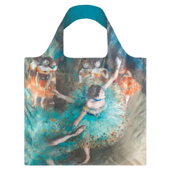The Green Dancer Folding Tote