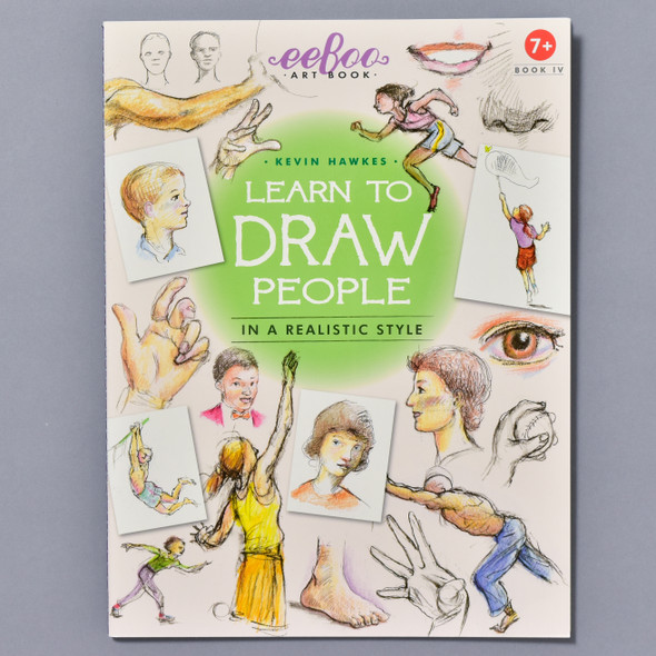 "Cover of the book ""Learn To Draw People: In A Realistic Style"" by Kevin Hawkes"