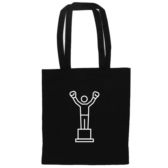 Philadelphia's Champion Black Tote, front