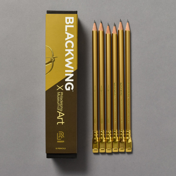 Blackwing x PMA Diana Pencils box and pencils