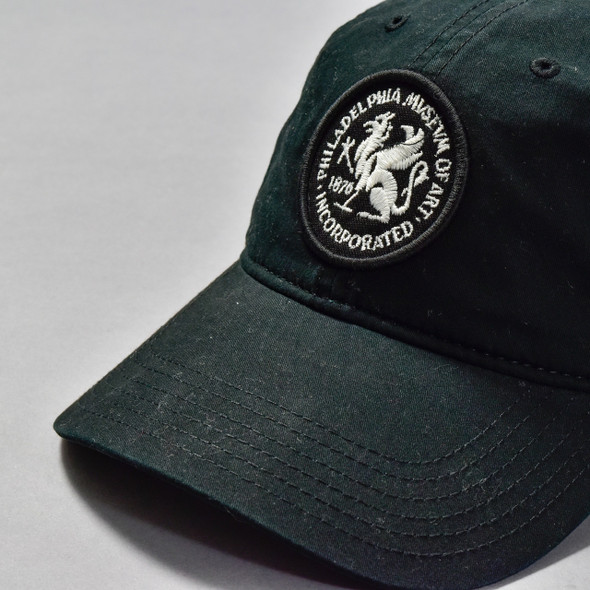 Black Philadelphia Museum Of Art Griffin Baseball Cap