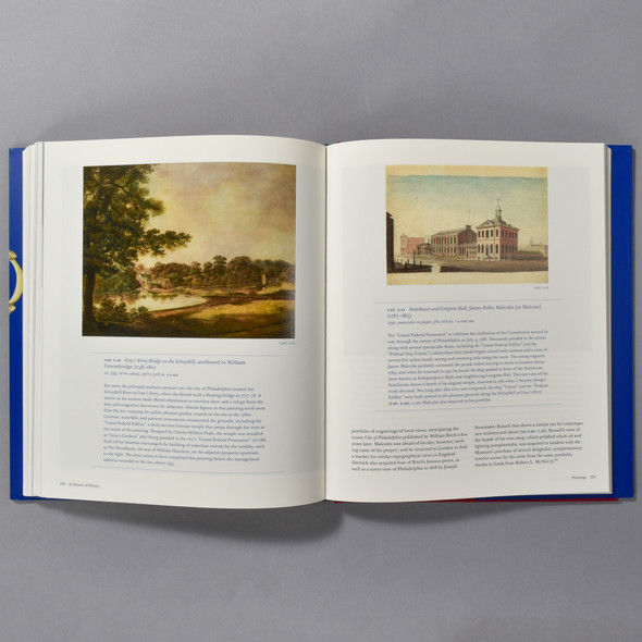 "Interior of book ""In Pursuit Of History: A Lifetime Collecting Colonial American Art And Artifacts"""
