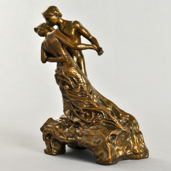 "Statue La Valse 7.5"" Reproduction Front"