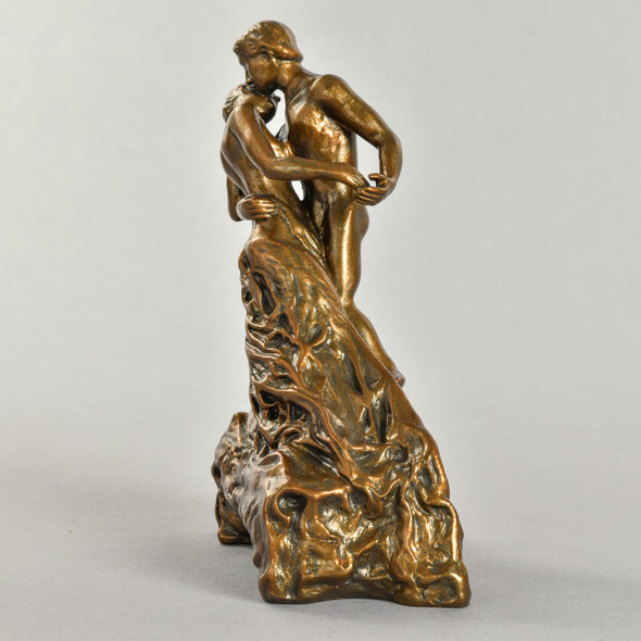 "Statue La Valse 7.5"" Reproduction Left Side"
