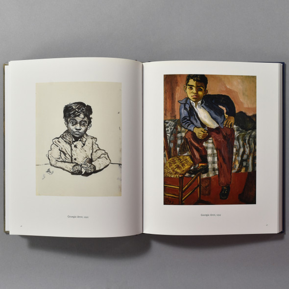 "Interior of the book ""Alice Neel: Uptown"""