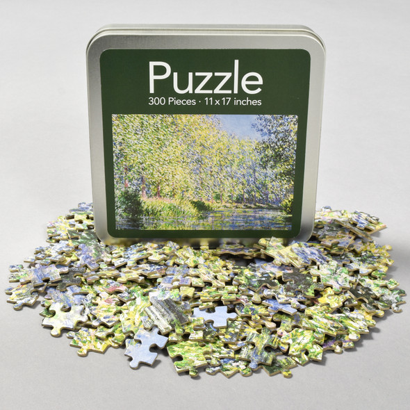 Front of Monet Bend In The Epte River Near Giverny Puzzle with puzzle pieces
