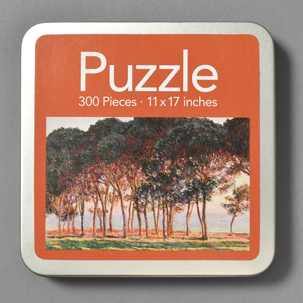 Front of Monet Under The Pines, Evening Puzzle