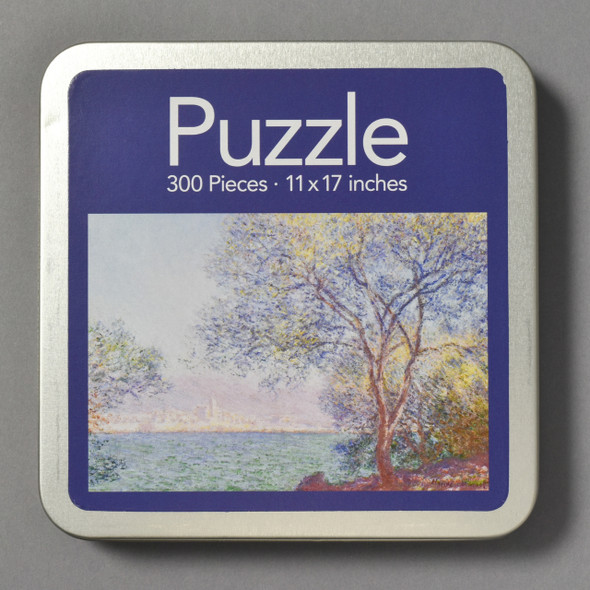 Front of Monet Morning At Antibes Puzzle