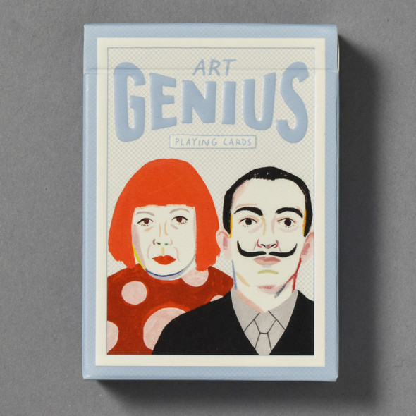 Front of Art Genius Playing Cards