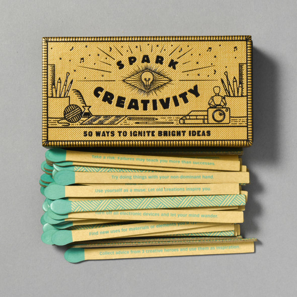 Front of Spark Creativity with contents