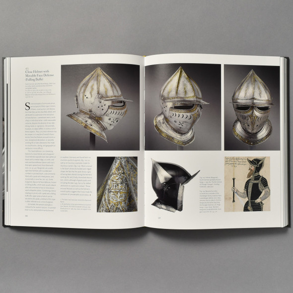 Interior of book Arms and Armor: Highlights from the Philadelphia Museum of Art