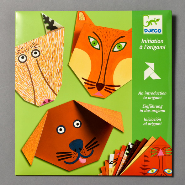 Front of Introduction to Origami: Animals Kit