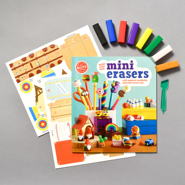 Contents of Make Your Own Mini Erasers
