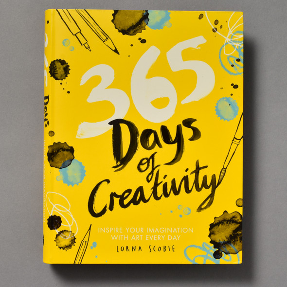 Cover of 365 Days of Creativity: Inspire Your Imagination With Art Every Day