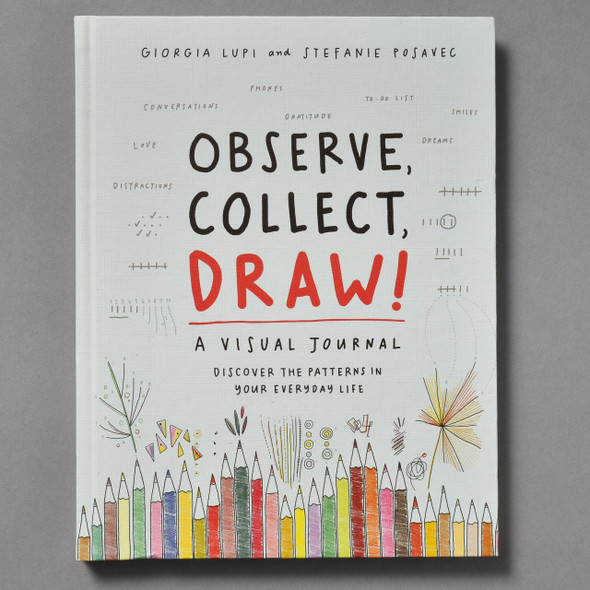 Front of Observe, Collect, Draw: A Visual Journal