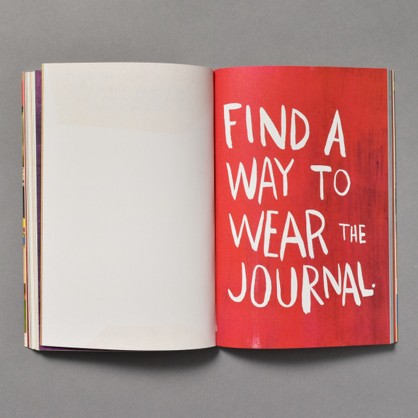 "Interior of Wreck This Journal : ""Now In Color"" Edition"