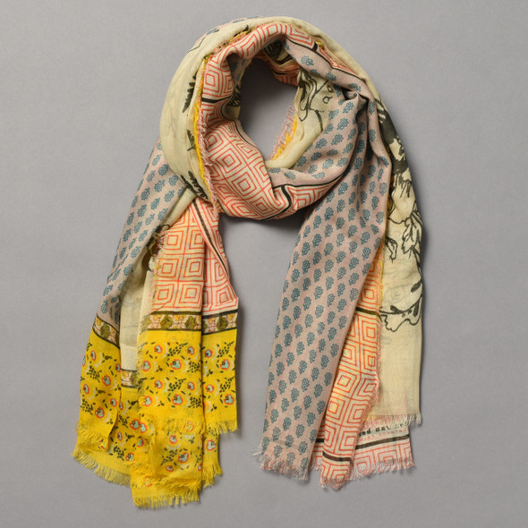 Heartmade Roxy Yellow Scarf