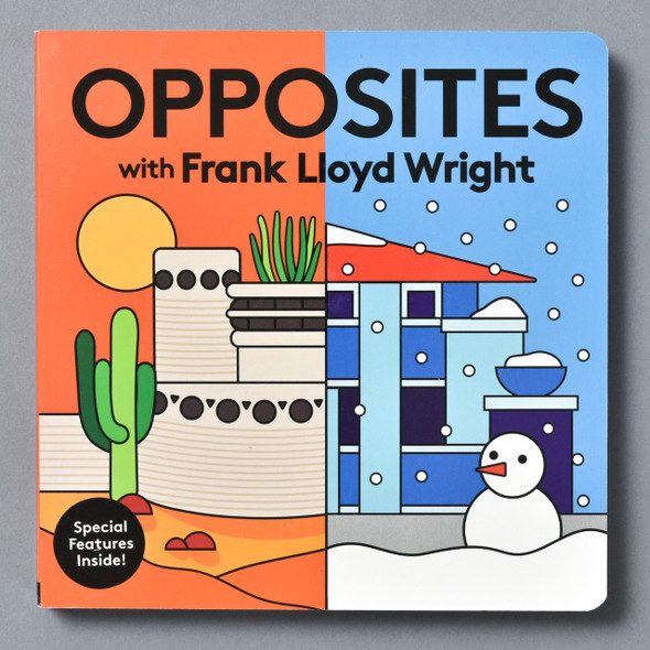 Front of Opposites With Frank Lloyd Wright