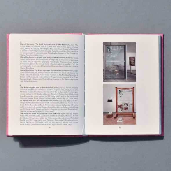 Interior of book Duchamp: By Hand, Even