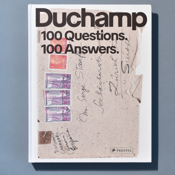 Front of book Marcel Duchamp: 100 Questions. 100 Answers.