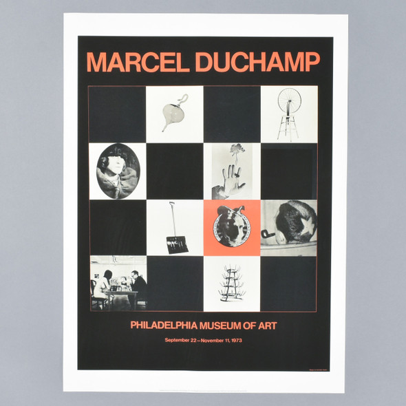 "PMA Exhibition Poster: Marcel Duchamp, 1973 18"" X 24"""