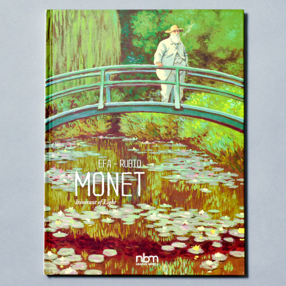 Cover of book Monet: Itinerant of Light