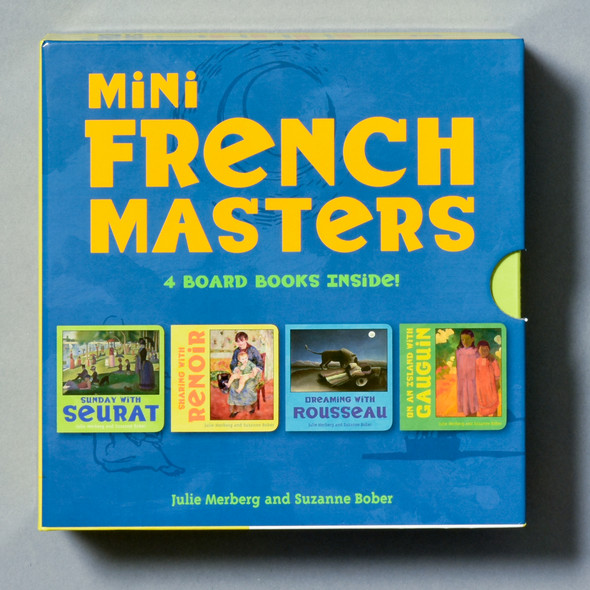 Front of boxed set Mini French Masters Boxed Set