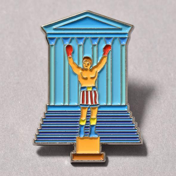 Philadelphia's Champion Enamel Pin