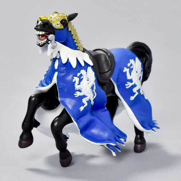 Horse Blue Dragon King figurine