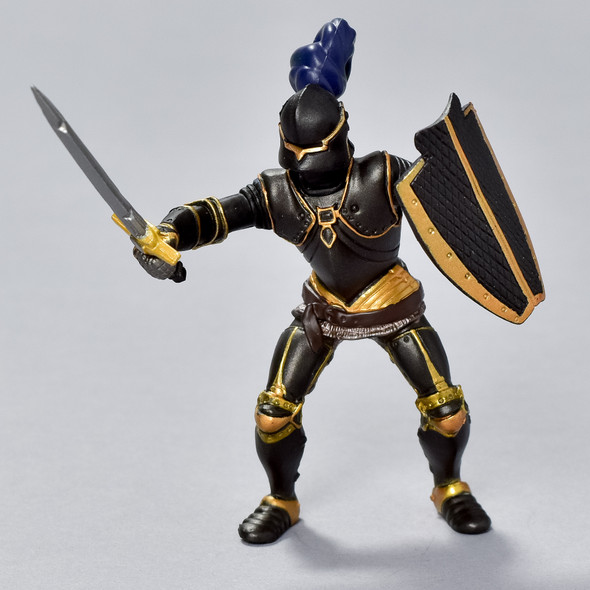 Armored Black Knight figurine