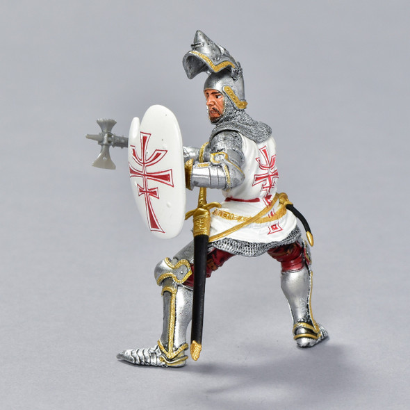Germanic Knight figurine