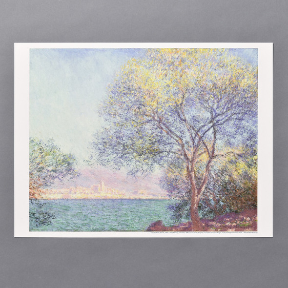 Claude Monet Morning at Antibes Mini Poster