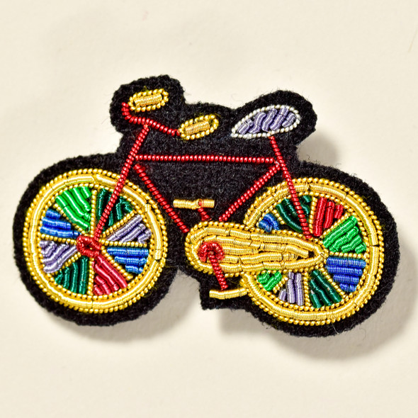 Paradise Bike Metal Thread Pin