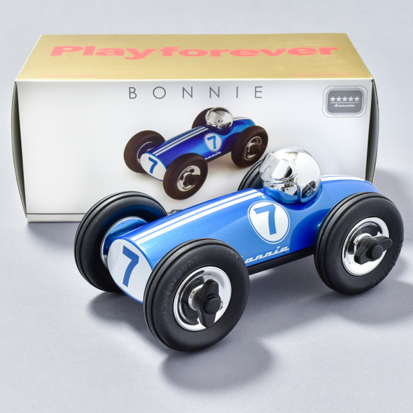 Midi Bonnie Blue Race Car with box