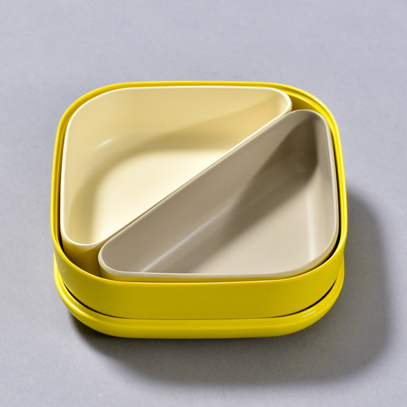 BENTO BOX LEMON open