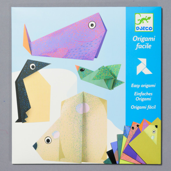 KIT ORIGAMI POLAR ANIMALS front of packaging