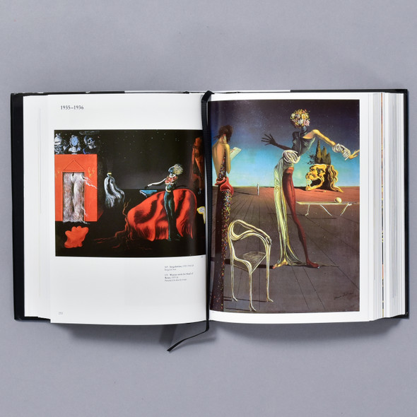 Interior of the book Dalí: The Paintings