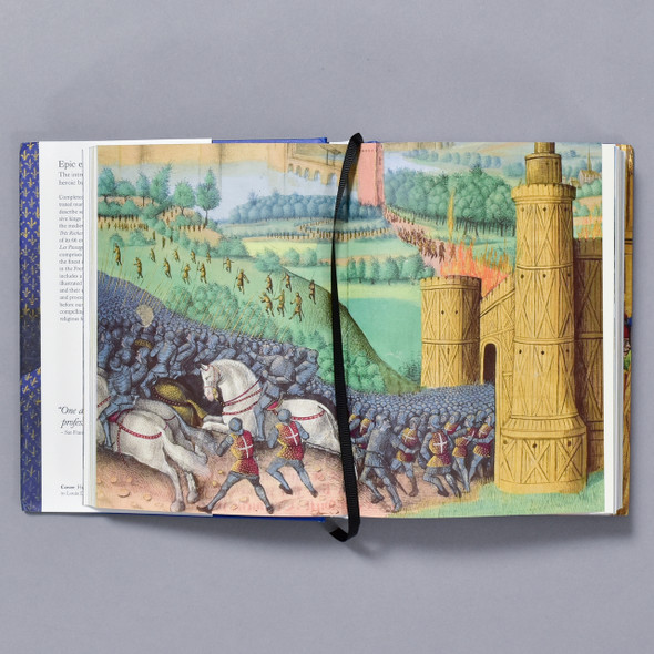 Interior of book Chronicle of the Crusades