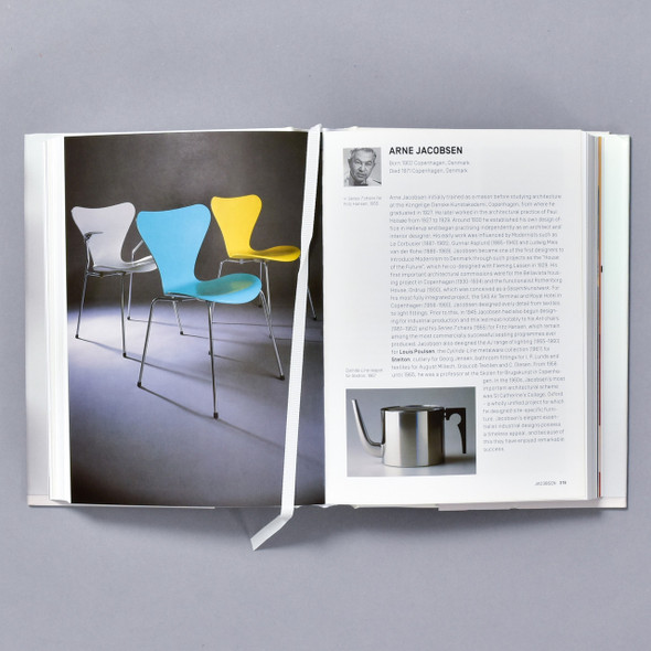 Interior of book Industrial Design