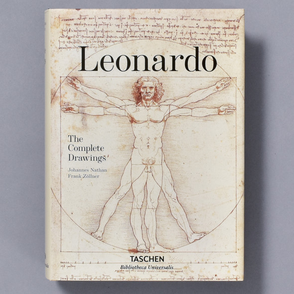 Cover of book Leonardo: The Complete Drawings