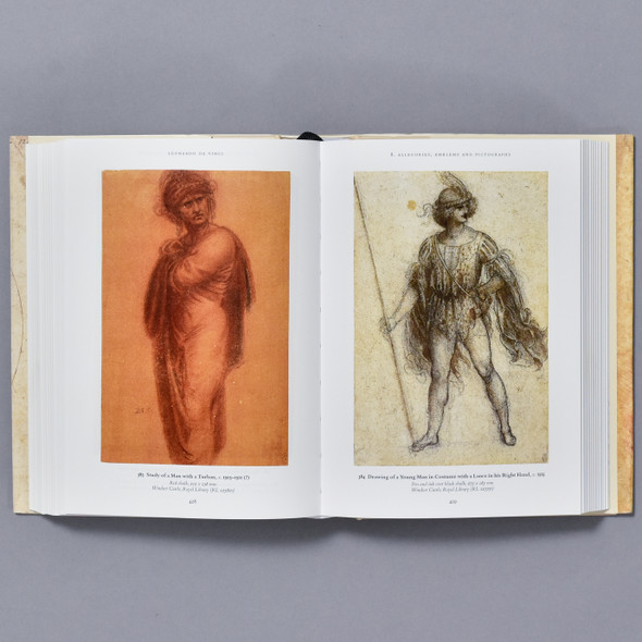 Interior of book Leonardo: The Complete Drawings