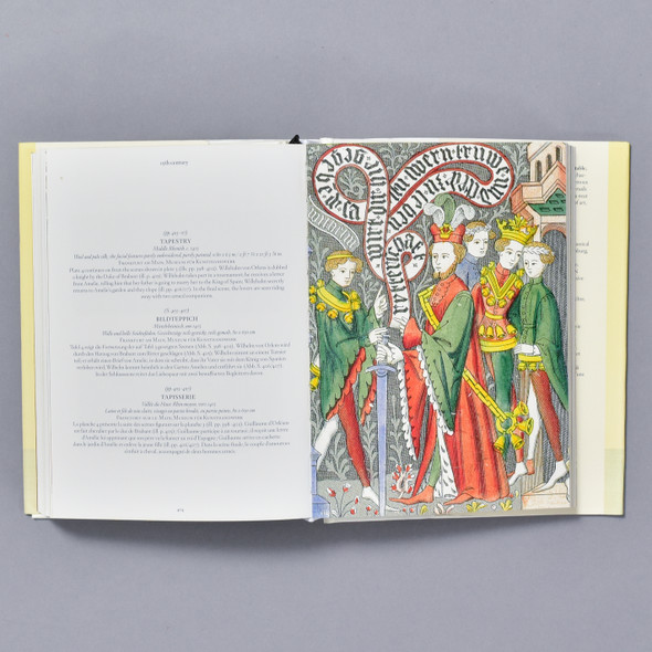 Interior of book Medieval & Renaissance Art