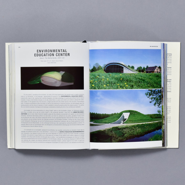 Interior of book Green Architecture